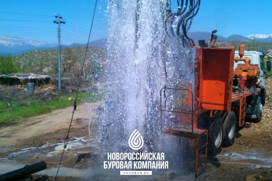 Гидробурение скважин